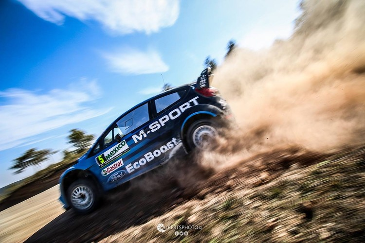 Ostbergs un Tanaks gatavojas Meksikas WRC rallijam