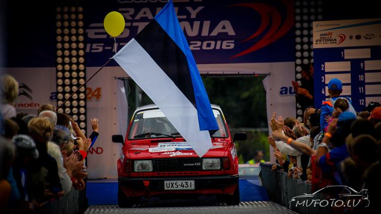 Rally Estonia 2016 1. diena
