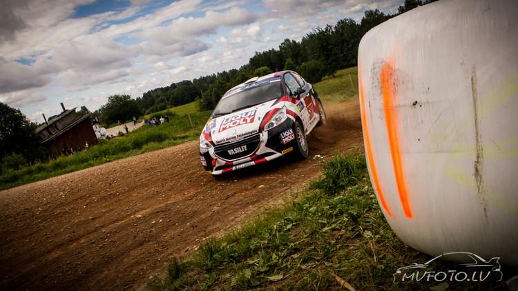 Rally Estonia 2016 2. diena
