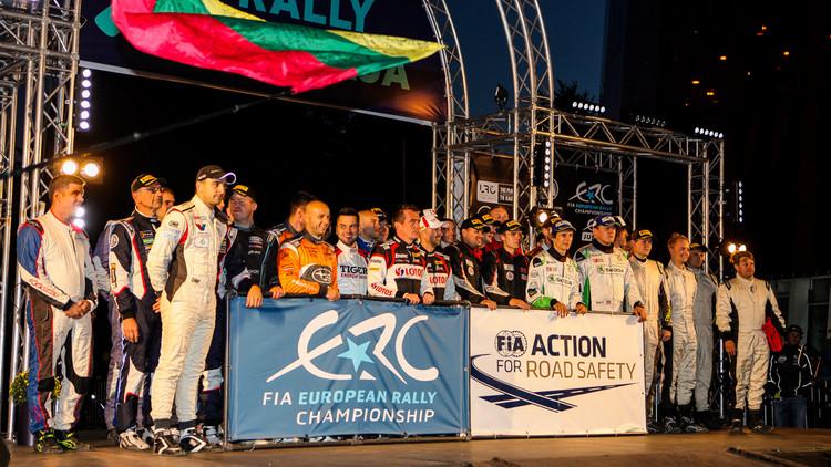 'Rally Liepāja' kvalifikācija un atklāšana