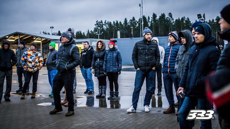 '333 Ziemas kausa' sezonu atklāj teju simt dalībnieku