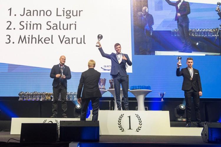 Krāšņā Igaunijas autosporta sezonas noslēguma ceremonija