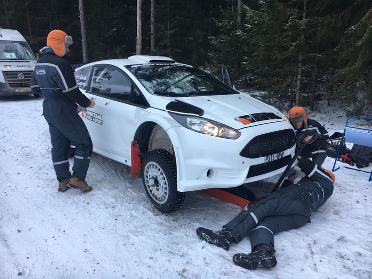 Sportisti gatavojas 'Rally Alūksne'