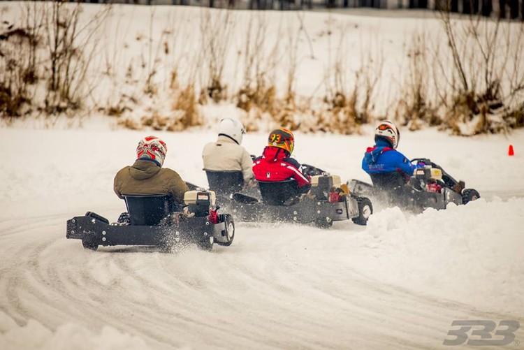 Ziemas kartingu sacensības