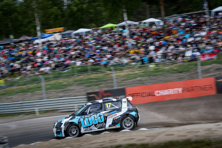 Artis Baumanis uzvar Eiropas rallijkrosa čempionāta posmā Zviedrijā