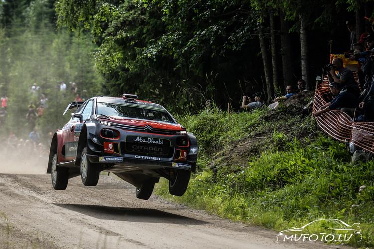 WRC Neste Rally Finland 3. diena