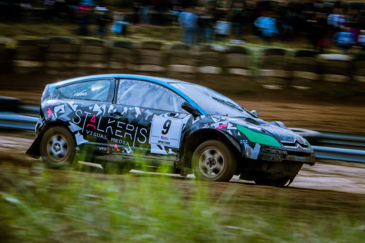 Latvijas autokrosa čempionāta noslēgums Smiltenē