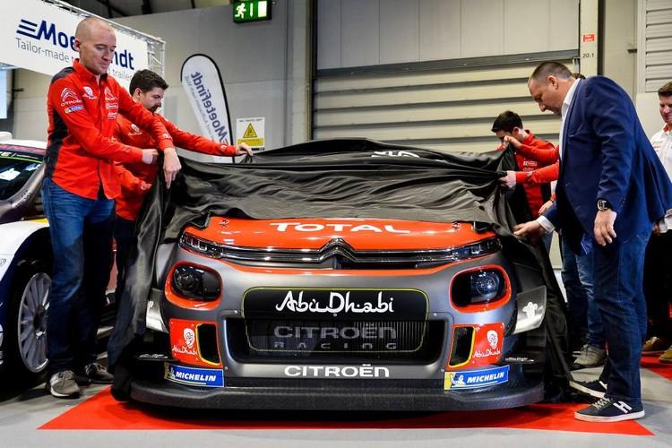 WRC komandas atrāda jauno auto dizainus
