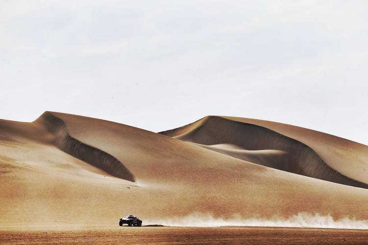 Dakaras rallija krāšņā daba un iespaidīgās kāpas