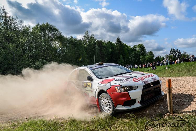 Rally Talsi 2018 Shakedown