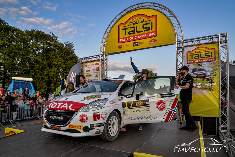 Rally Talsi 2018 atklāšana
