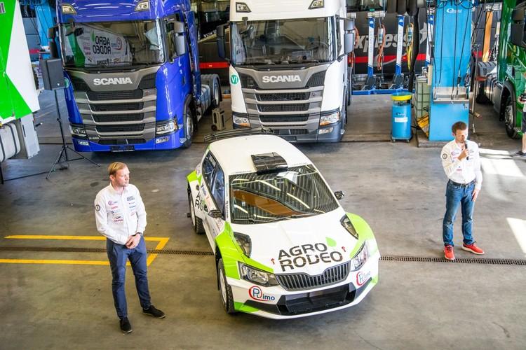 Žala un Mālnieks prezentē 'Škoda Fabia R5'