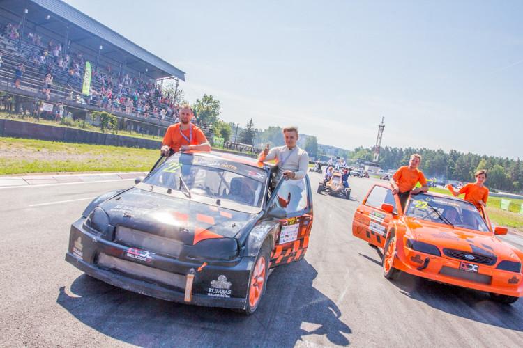 Latvijas rallijkrosa čempionāta 3. posms Biķernieku trasē