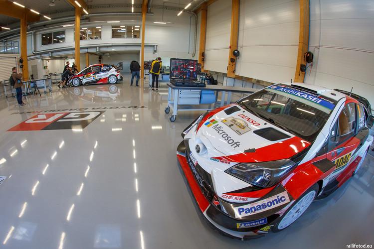 'Toyota' rallija komandai jaunas mājas Igaunijā
