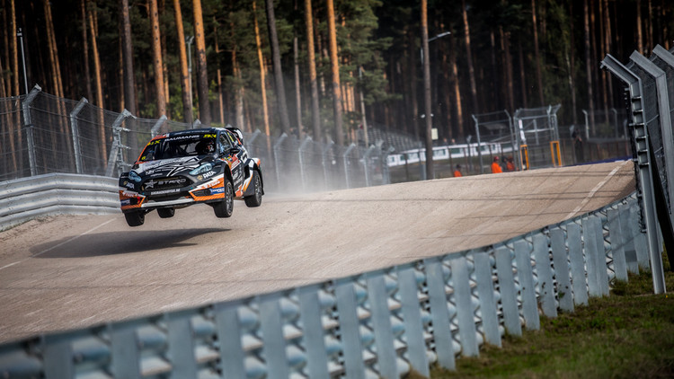 Neste World RX of Latvia 1. diena (Aigars Tīdmanis)