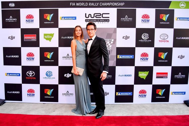 'WRC Gala' balvu pasniegšanas ceremonija