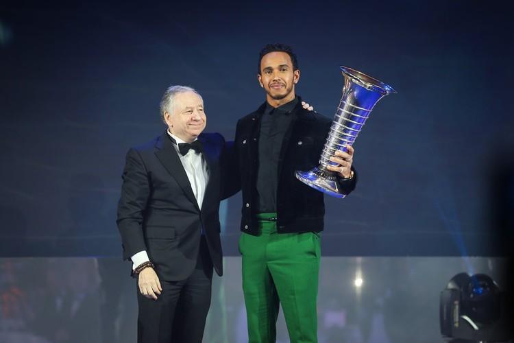 'FIA Gala' balvu pasniegšanas ceremonija