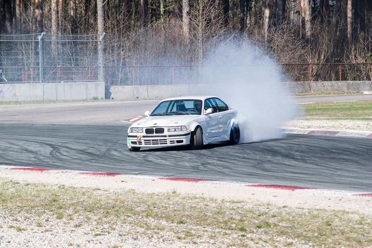 Pirmie drifta treniņi