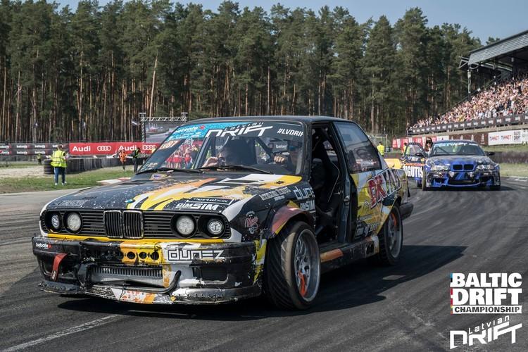 Baltijas drifta sezonas atklāšana