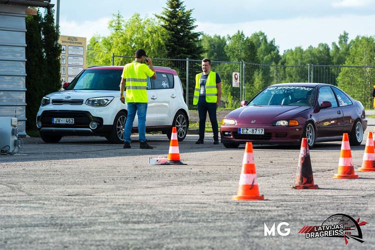 Dragreisa treniņš Jelgavā
