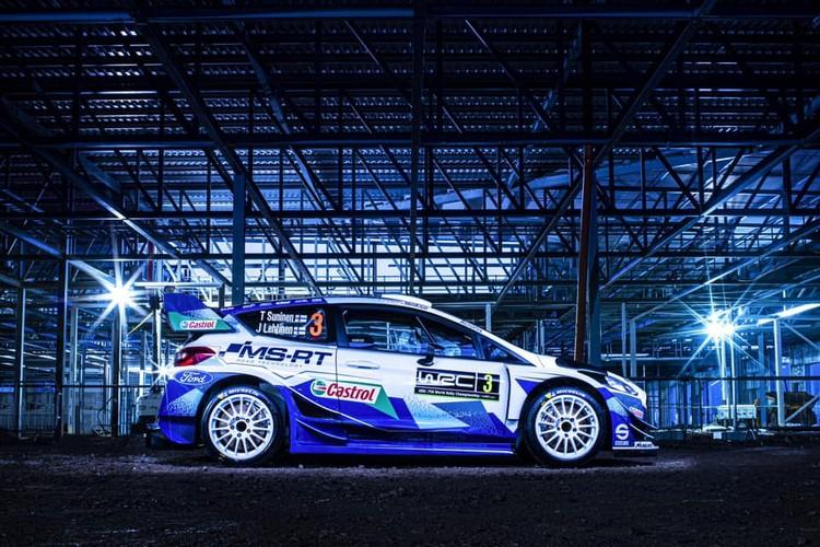 M-Sport komanda atrāda jauno dizainu