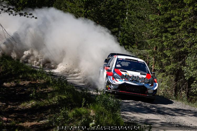 Rovanpera testē 'Toyota Yaris WRC'