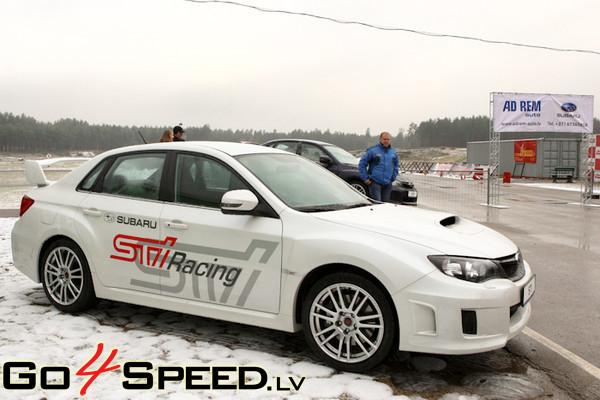 Subaru STI prezentācija 2010