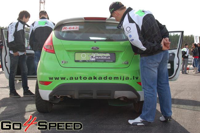 O!Kartes Autosporta Akadēmijas atklāšana
