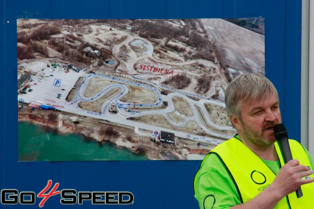 O!Kartes Autosporta Akadēmijas 1. testu diena