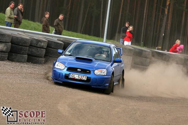 Subaru Club Latvia 3.posms 2008