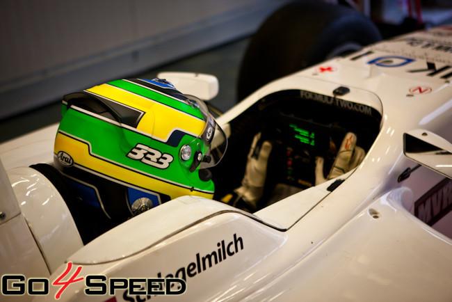 Haralds Šlēgelmilhs F2 kvalifikācijā Moncā