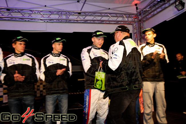 Okartes Autosporta Akadēmijas fināls 2012