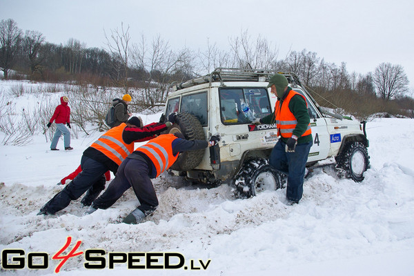 Jeep Raid Latvia 2009