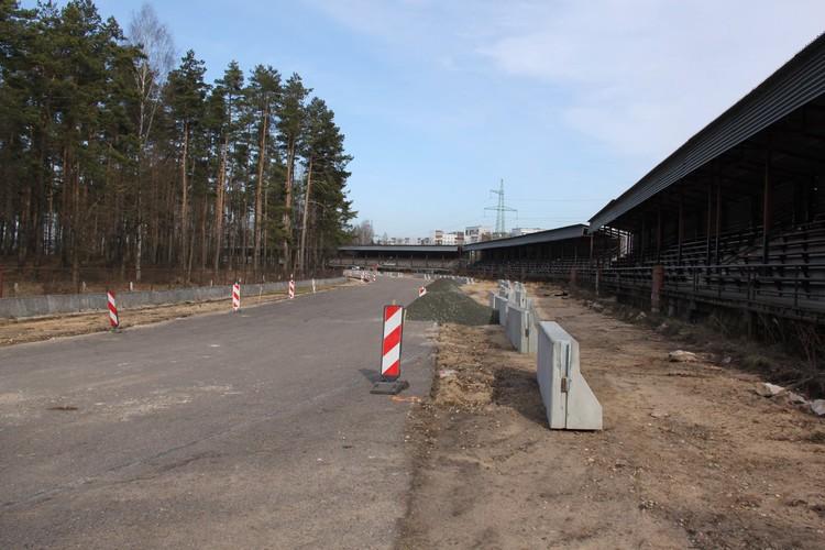 Biķernieku trasē turpinās vērienīgi rekonstrukcijas darbi