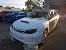 Subaru impreza rallycross