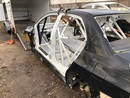 Mitsubishi Lancer EVO IX body shell with KBT certified roll cage.