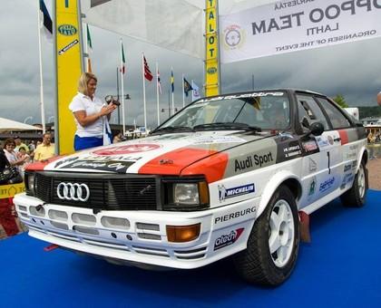 VIDEO: Latvala izcīna uzvaru ar vēsturisko Audi Quattro