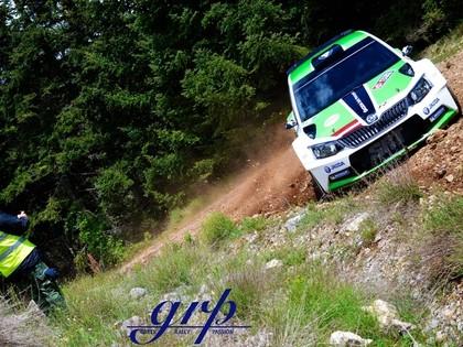 VIDEO: Sirmacis/Šimins Grieķijas ERČ testos demonstrē lielisku ātrumu
