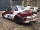 FOTO: Sirmača stūrmanis Šimins minirallijā 'Latvija' startēs ar krāšņu auto dizainu