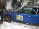 FOTO: 'Subaru Impreza' automašīnas iespaidīgā avārija Alūksnes rallijā