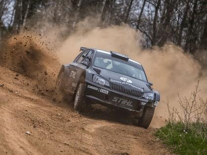 VIDEO: Vanagas pirms Talsu rallija aizvada pirmos testus ar 'Škoda Fabia R5'