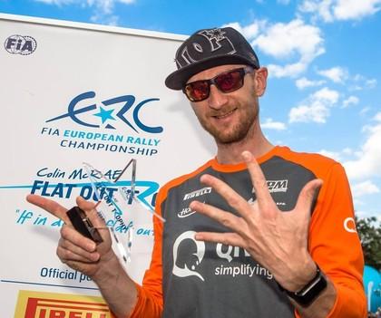 VIDEO: Lukjaņuks: Zinu, ka varu finišēt pirms rallija finiša, taču tas esmu es