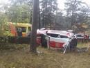 FOTO: Ingus Beļakovs Biķernieku trasē piedzīvo iespaidīgu avāriju