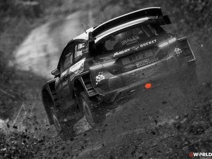 VIDEO: Sportisti iesildās Velsas WRC rallijam, Noivils gandrīz avarē