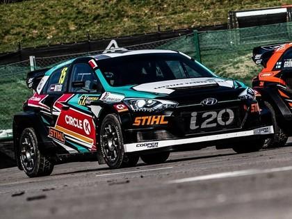 FOTO: Nitišs un GRX rallijkrosa komanda atrāda automašīnu jaunos dizainus