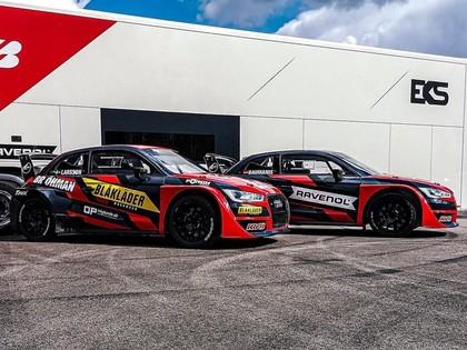 FOTO: Baumanis un Larsons atrāda 'Audi S1 Supercar' šīs sezonas dizainu