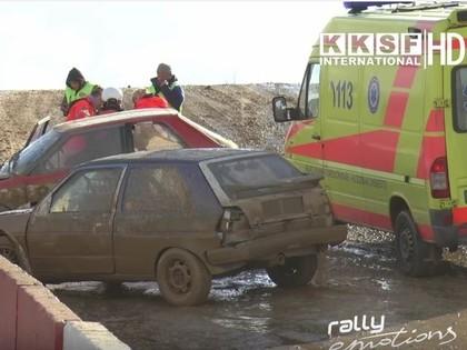 VIDEO: Folkreisa sacensībās Mūsā daudz avāriju un iznīcinātu mašīnu