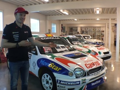 VIDEO: WRC zvaigzne Jari-Mati Latvala izrāda savu rallija muzeju