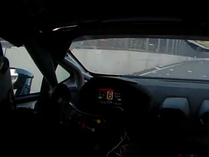 VIDEO: Batraks ar 'Lamborghini Huracan' Biķernieku trasē attīsta vairāk nekā 230 km/h lielu ātrumu