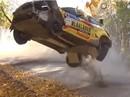 VIDEO: Norvēģu sportists 'Rally Liepāja' piedzīvo iespaidīgu avāriju
